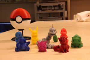 3D tisk pokémonů