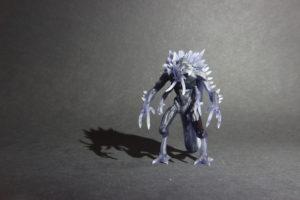 figurka démona 3D tisk makerslab